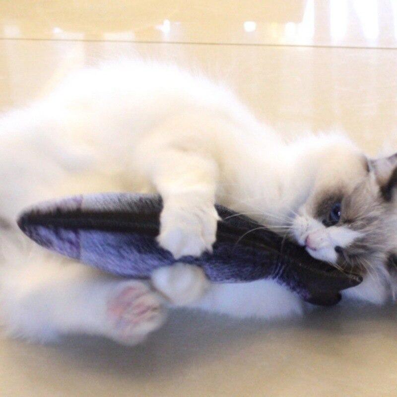 Cat Favor Fish Toy Stuffed Fish Cute Fish Shape Sisal Hemp Cat Scratch Board Scratching Post For Pet Products Supplies