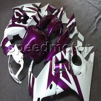 Custom+Bolts+Tank cover+abs cowling purple CBR600 F3 95 96 motorcycle Fairing for Honda bodywork kit CBR 600F3 1995 1996