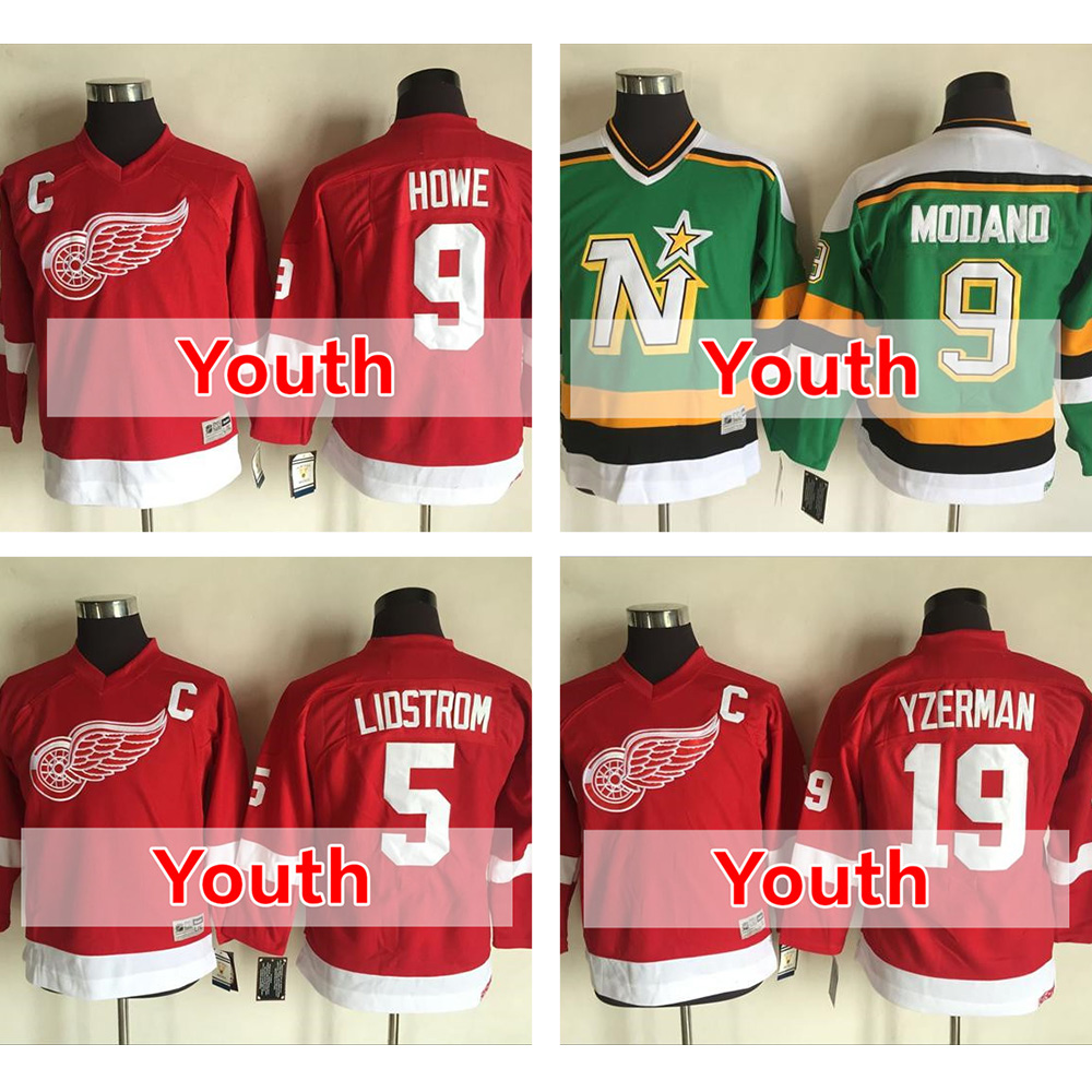 ... 2016 Kid39s Youth 9 Mike Modano 5 Nicklas Lidstrom 9 Gordie ... 8439a56d3