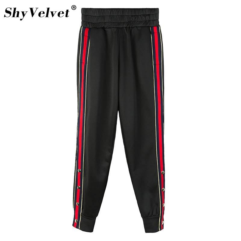 Dutiful Plus Size 4xl 5xl 6xl Elastic Waist Sweatpants Long Harem Pant Sportswear Leisure Striped Jogger Pants Loose Oversized Trousers