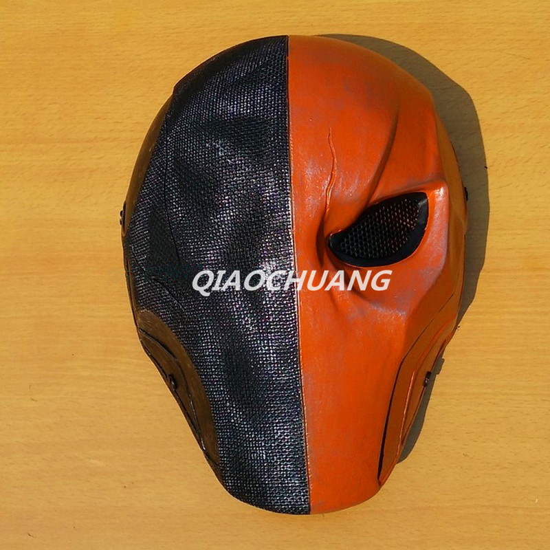 Deathst Mask Breathable Full Face Mask Terminator Helmet Halloween Cosplay Horror Helmet Slade Joseph Wilson Halloween Prop W156 hellboy mask breathable full face mask kroenen helmet halloween cosplay horror helmet karl ruprecht kroenen halloween props w153
