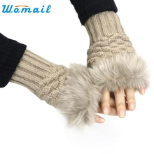 ist Fingerless Gloves Mittens Y8043
