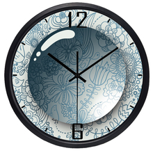 3D Water Drop Flower Wall Clock for Living Room Popular Design Modern Brand Design