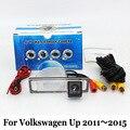 Câmera de visão traseira do carro/para volkswagen vw up 2011 ~ 2015/fio Ou Sem Fio HD Lente Grande Angular Night Vision Backup Veículo câmeras