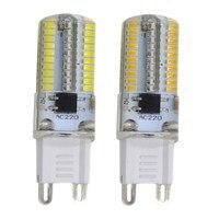 G9 320 Dimmable Bulb 80LEDs 3014 SMD AC220-240V Energy-saving Lamp Light Warm White / White Light
