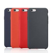 27 Цвет Роскошные жидкого силиконового каучука ткань из микроволокна задняя крышка для iPhone 6 6 S 7 iPhone6 iPhone6s iPhone7 плюс