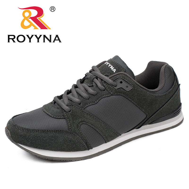ROYYNA Spring Autumn New Style Men Casual Shoes Lace Up Breathable Comfortable Men Shoes Sapatos  Masculino Fast Free Shipping klywoo new white fasion shoes men casual shoes spring men driving shoes leather breathable comfortable lace up zapatos hombre