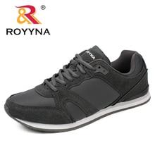 Royyna春秋の新スタイル男性カジュアルシューズレースアップ通気性の快適な靴sapatos masculino高速送料無料