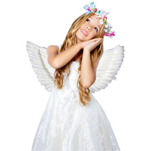 ФОТО adult kid angel wings feather fairy night party fancy dress costume cosplay prop new