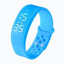 Спортивные часы Smart Браслет наручные часы W6 со временем экрана Шагомер сна монитор фитнес трек здоровья 3D Смарт Группа Браслет