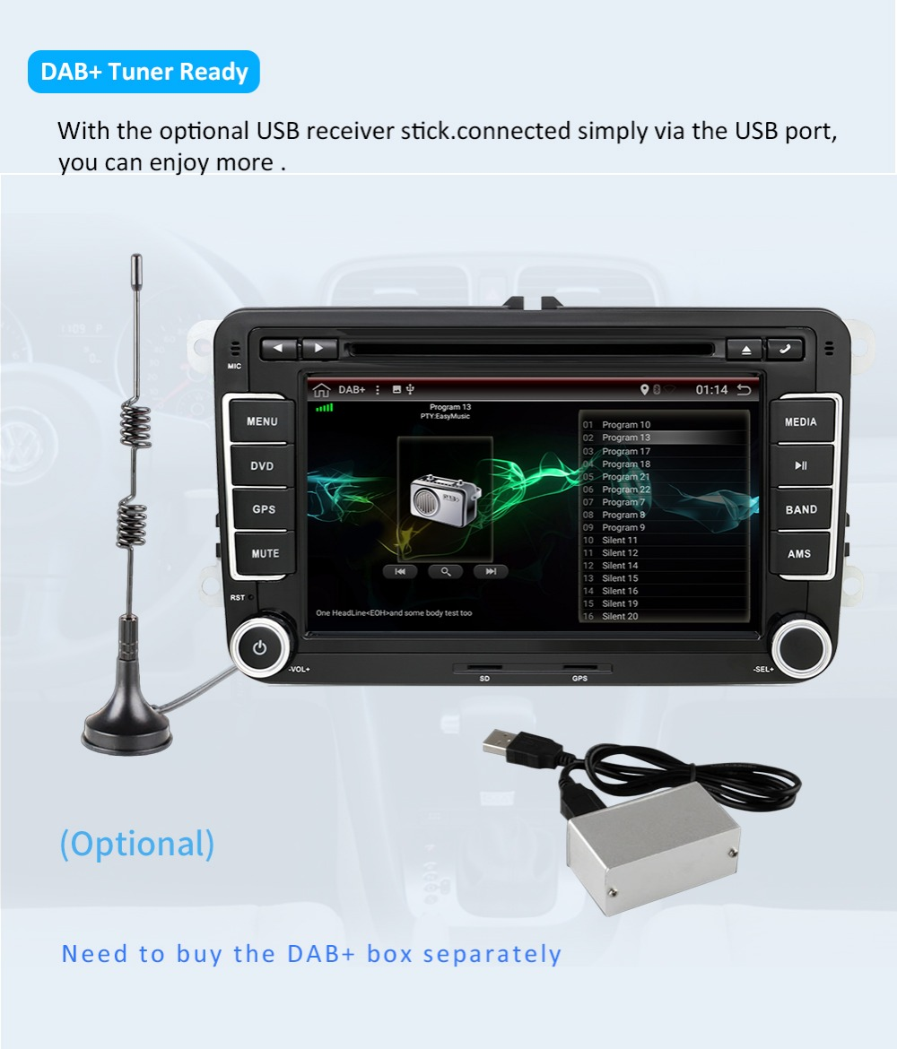 Volkswagen wifi Android RDS 15