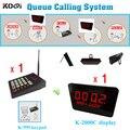 Система очереди/пейджер система больницы  1 K-999 клавиатура + 2 K-2000C дисплей