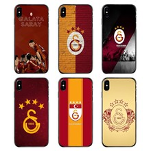 Galatasaray Turkije S.K. FC Logo Voor Huawei P7 P8 P9 P10 Lite Plus 2017 2016 Honor 5C 6 4X 5X Mate 8 7 9 accessoires Telefoon Covers(China)
