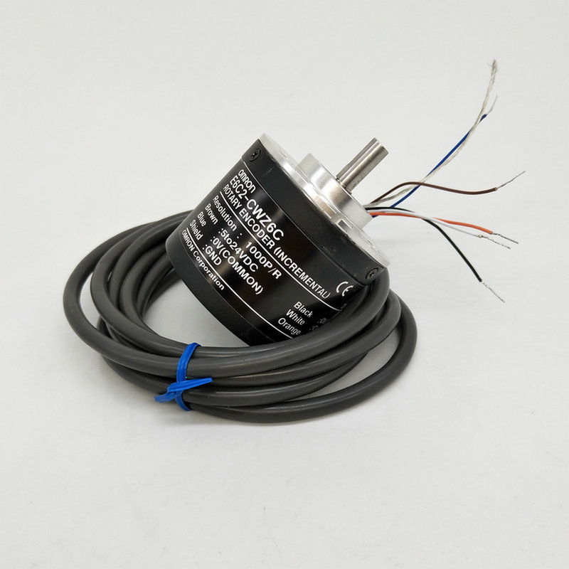 все цены на Omron E6C2-CWZ6C 1000 600 100 1024ppr pulse digital optical encoder quadrature rotary encoder angle sensor онлайн