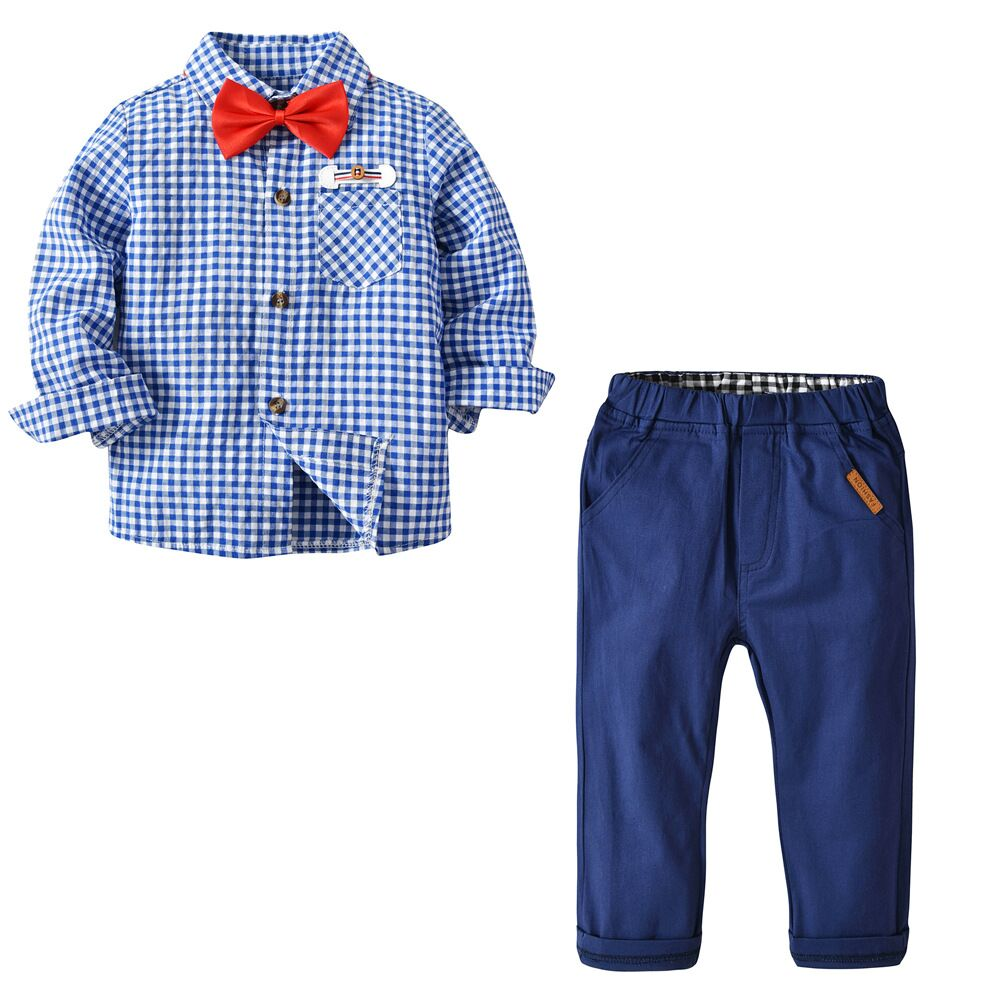 Baby Boy 1st Birthday Outfit Gentleman Suspender Pants Formal Tuxedo Clothes Set