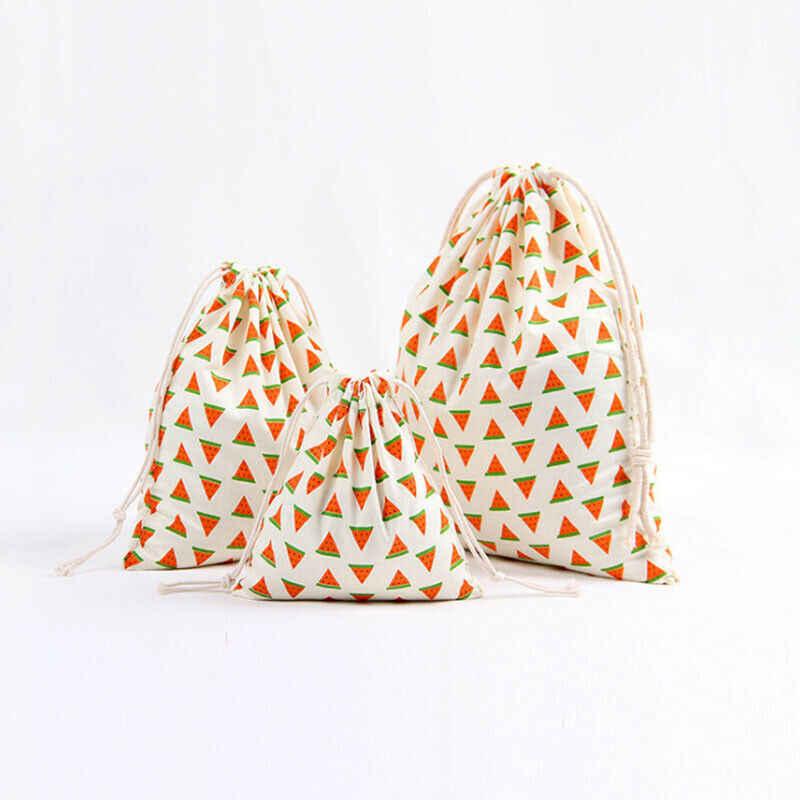 Đến phụ nữ của đa-chức năng mua sắm túi Dây Kéo Túi trái cây in lưu trữ di động túi quà tặng