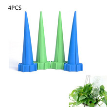 4PCS Practical Automatic Watering Garden Plant Flower Drip Sprinkler Water Seepage Device