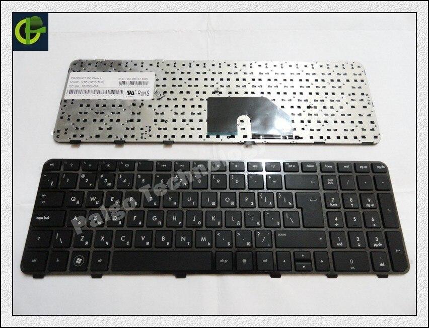 Russian Keyboard for HP Pavilion DV6-6000 DV6-6100 DV6-6200 DV6-6b00 dv6-6c00 RU Black 640436-001 634139-001 665937-251