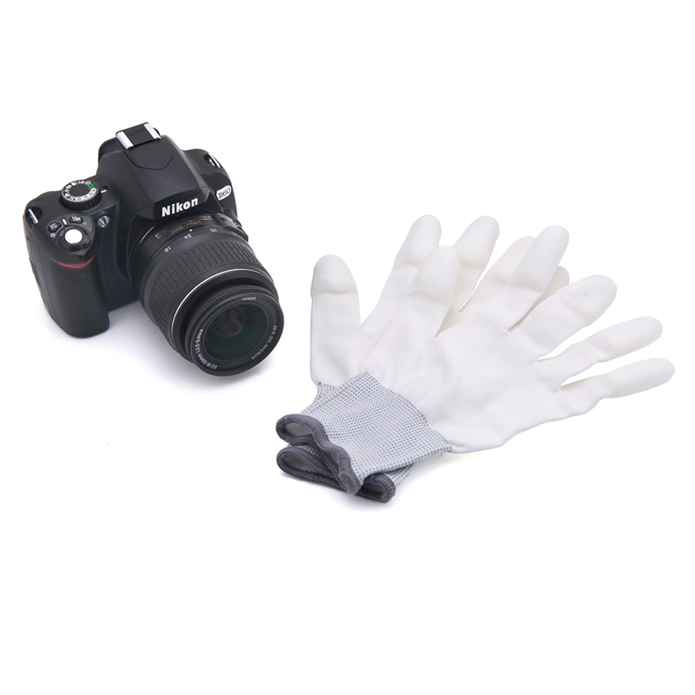 Professional VSGO Nylon Carbon Fibre Material Anti-Static Cleaning Glove For DSLR Camera Tablet Laptop Phone Watch and Glasses.