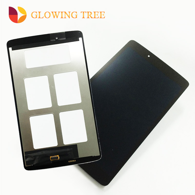 For LG G Pad 8.0 V490 V480 Touch Screen Digitizer Panel Sensor Glass Lens + LCD Display Screen Panel Monitor Assembly With Frame