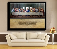 New 100 Diamond Embroidery DIY 5D Diamond Painting The Last Supper Cross Stitch Crystal Full Square