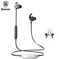 Baseus S03 Auriculares Bluetooth Earphone Headphone With Mic Magnet Wireless Headset Sport Running Hifi Stereo Earbuds