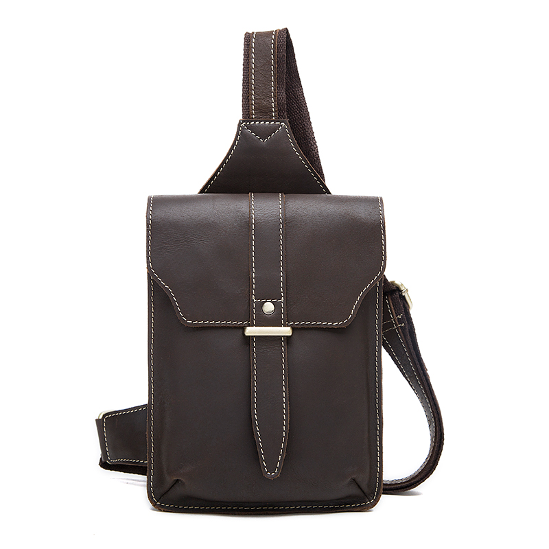 100% Genuine Leather Men Bag men messenger bags New 2016 High quality Natural Cowskin Vintage check cross body shoulder bag men