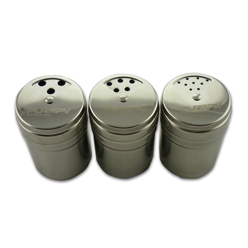 Genial New 3pcs/lot Stainless Steel Spice Shaker Pepper Salt Bottle Seasoning Pot  Box Condiment Jar Seasoning Shelf Kitchen Castor Tool In Salt Pigs, ...