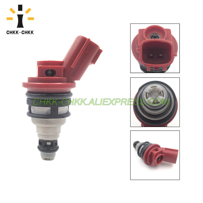 CHKK CHKK NEW Car Accessory 16600 53J03 fuel injector for INFINITI Q45 4 1L V8 1997 2001 in Fuel Injector from Automobiles Motorcycles