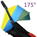 Подушка для детской коляски + солнцезащитный чехол для Детское <font><b>yoya</b></font> Throne Time аксессуары для детской коляски 175 градусов шторы Багги подушки сиде...