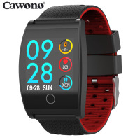 Cawono CW25 Smart Bracelet 1.3inch Blood Pressure Heart Rate Monitor Health Tracker Wristband Waterproof Sport Smart Band Watch