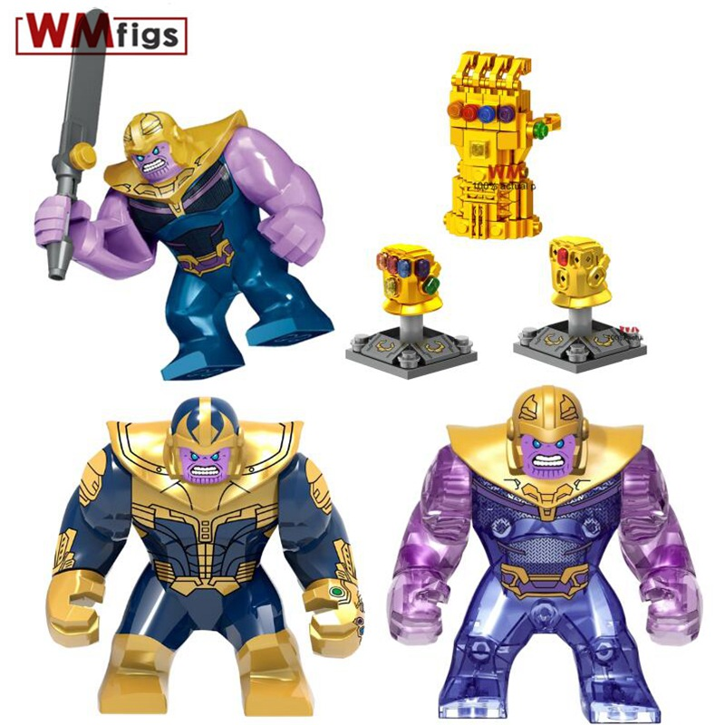 Blocks Single Avengers Legoings Thanos Infinity Gaunlet With Colorful Stones Infinity Wars Model Building Blocks Toys For Children Gift Curing Cough And Facilitating Expectoration And Relieving Hoarseness