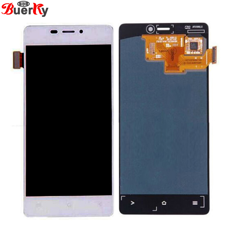 BKparts For 4.8 inch Blu Vivo Air D980L LCD Display Touch Screen For FLY IQ4516 Glass Digitizer Complete Assembly Replacement