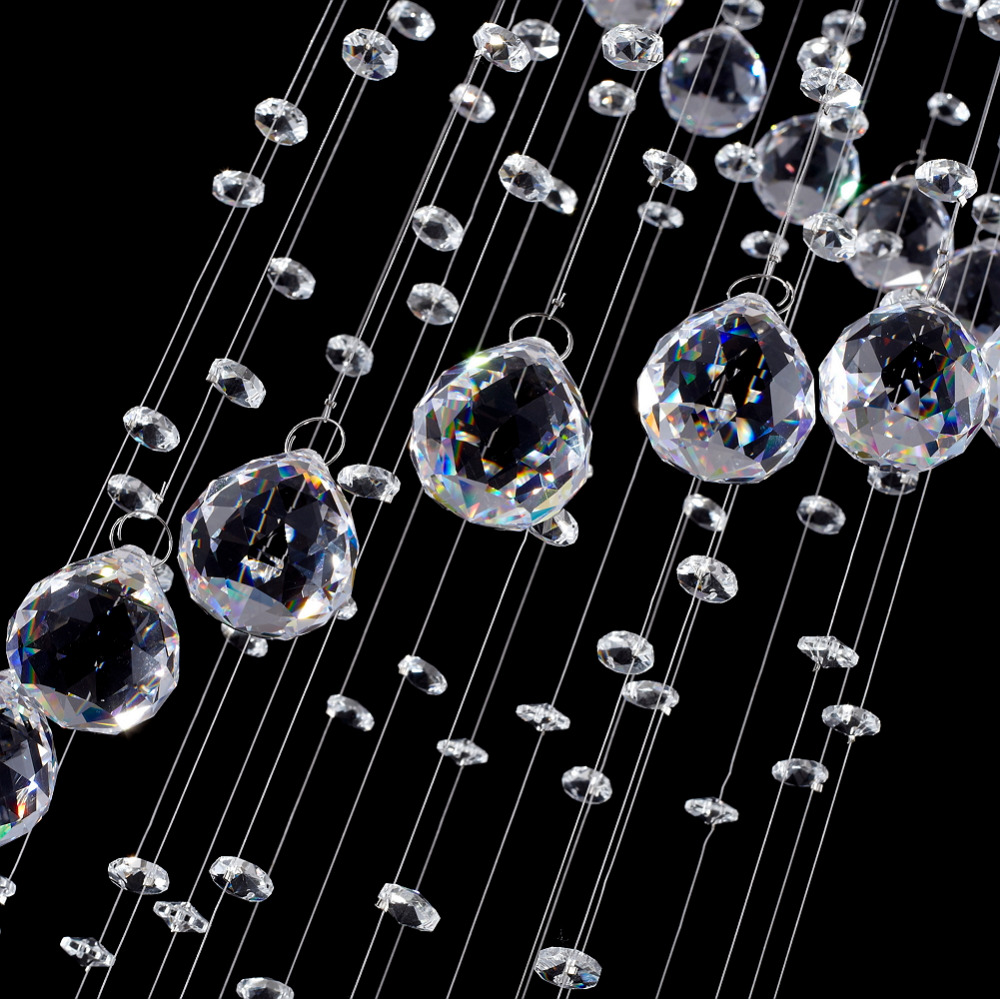 Lighting Basement Washroom Stairs: Modern Led Crystal Chandelier Spiral Lustre Light Fixtures