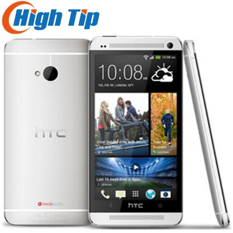 100% Original Entsperrt HTC ONE M7 Android Smartphone 32 gb ROM 4,7 zoll GPS 3g Dual kamera 8MP WIFI freies verschiffen Renoviert