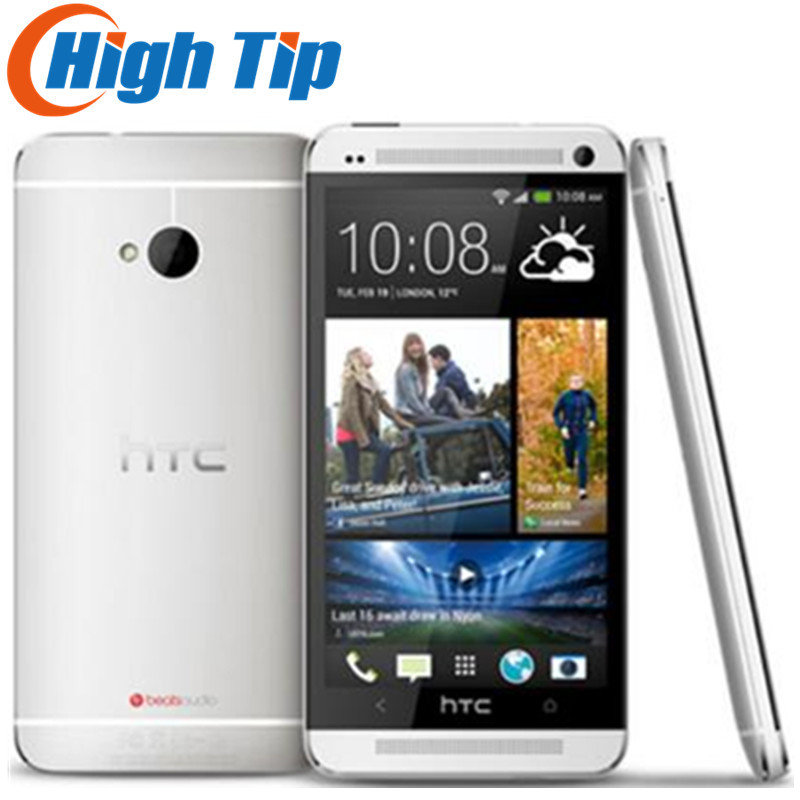 100% Оригинальный разблокированный смартфон HTC ONE M7 Android 32 ГБ ROM 4,7 дюймов GPS 3G Двойная камера 8 Мп WIFI Бесплатная доставка Восстановленный