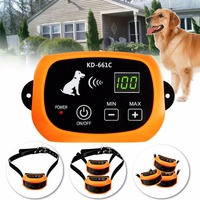 Waterproof In Ground Rechargeable Pet Collar Electronic Wireless Remote Pet Dog Fence Containment System for 1/2/3 Dog #287932