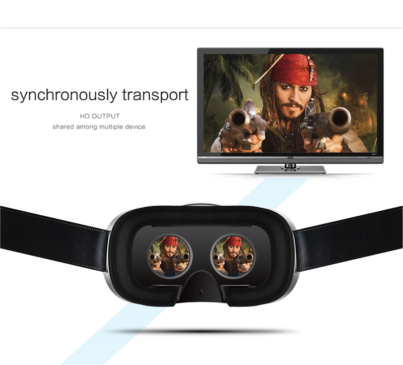 New Magicsee M1 M2 3D Glasses All in one VR FOV90 Android 5.1 Virtual Reality 5.5inch VR BOX Glasses for 3D Game Movie