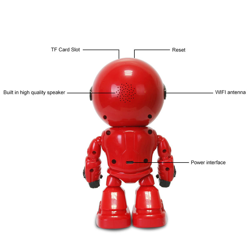Robot WIFI Camera IP HD CCTV Home Security Baby Monitor Wireless 960P 1.3MP CMOS