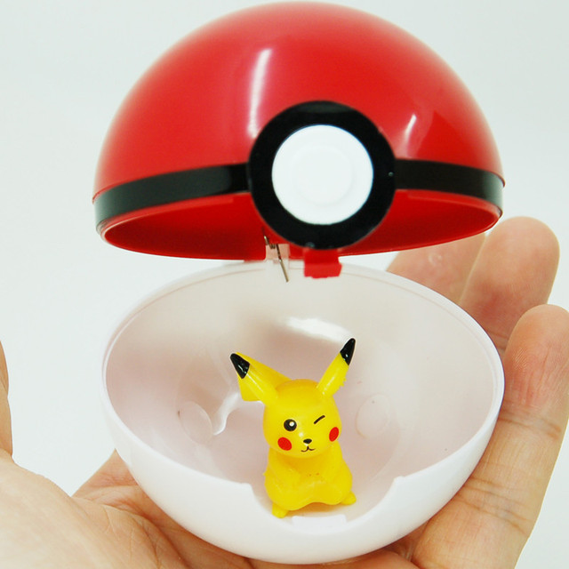 4pcs/lot Pokemon ABS Fifures Pikachu Toys