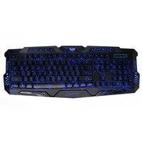 متعددة الوظائف 104 مفتاح الميكانيكية يشعر للتحويل الألعاب 3 لون الخلفية 1.5 متر usb السلكية عبة keypad for pc laptop