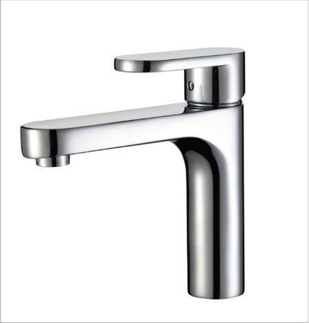Aliexpress.com : Buy Free Shipping Modern Bathroom Taps Brass Chrome Single  Hole Bathroom Faucet With Long Spout,bathroom Sink Basin Mixer Tap,PZ 1  From ...