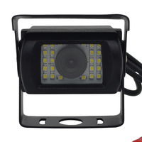 bus/vans /trucks rear view camera DC9-35V 120 degree view angle night vision waterproof IP67, factory direct selling