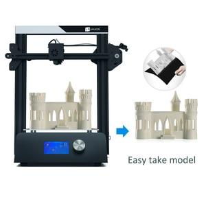 Image 5 - JGMAKER Magic 3D Printer Aluminium Frame Matel Base DIY Kits Large Print Size 220x220x250mm Printing Masks JGAURORA RU Warehouse