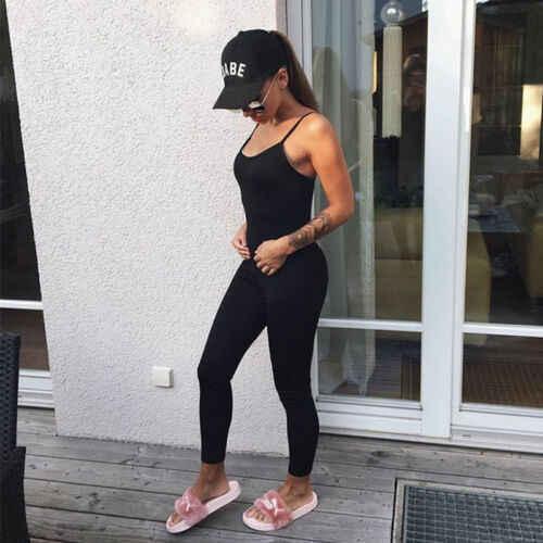 Hirigin mujeres deporte gimnasio mamelucos traje de correr Fitness entrenamiento mono conjunto de Bodysuits