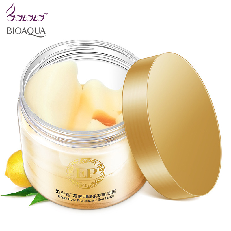 BIOAQUA eye mask women Collagen gel whey protein 60pcs anti wrinkle aging skin face care sleep patches health mascaras eye Care
