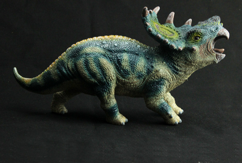 Pachyrhinosaurus Dinosaur Action Toy Figures Animal Model Collection Christmas Gift for Children