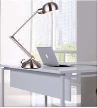 цена на Factory wholesale folding ideas dimming hotel engineering LED lamp eye study arm metal lamp