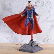 סופרמן ליגת צדק פעולה דגם צעצוע ברזל אולפני PVC אסיפה איור סופר איש פסל צעצועים