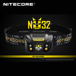 Hot Sale Nitecore NU32 CREE XP-G3 S3 LED 550 Lumens High Performance Rechargeable Headlamp Built-in Li-ion Battery